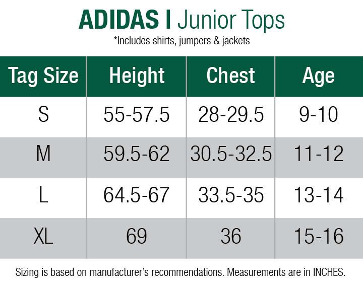 adidas-jumpers-juniors size chart