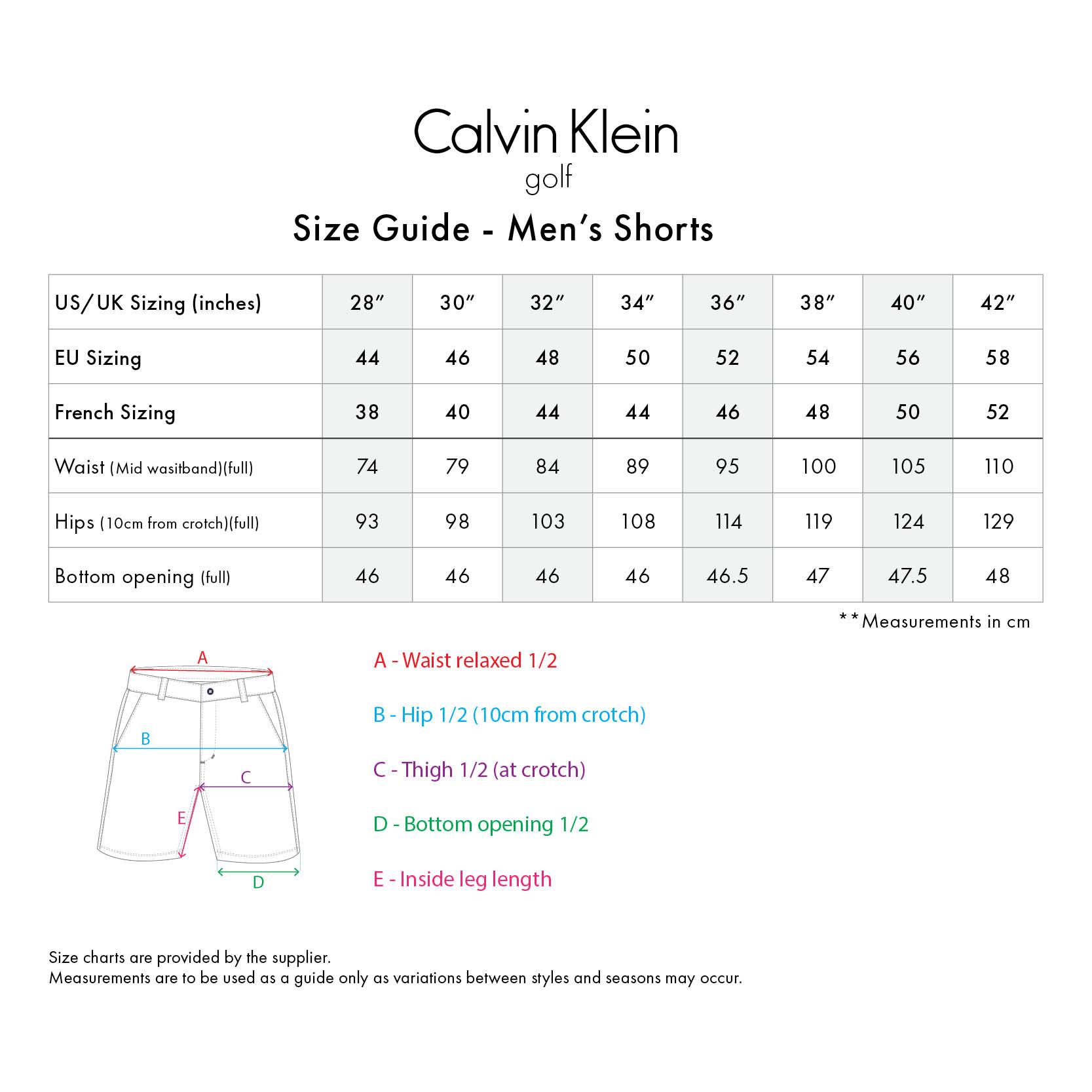 Calvin Klein Ck Chino Short Red