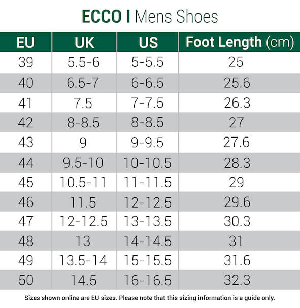 mizuno golf shoes size chart european 800