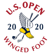 us open winged foot logo 2020