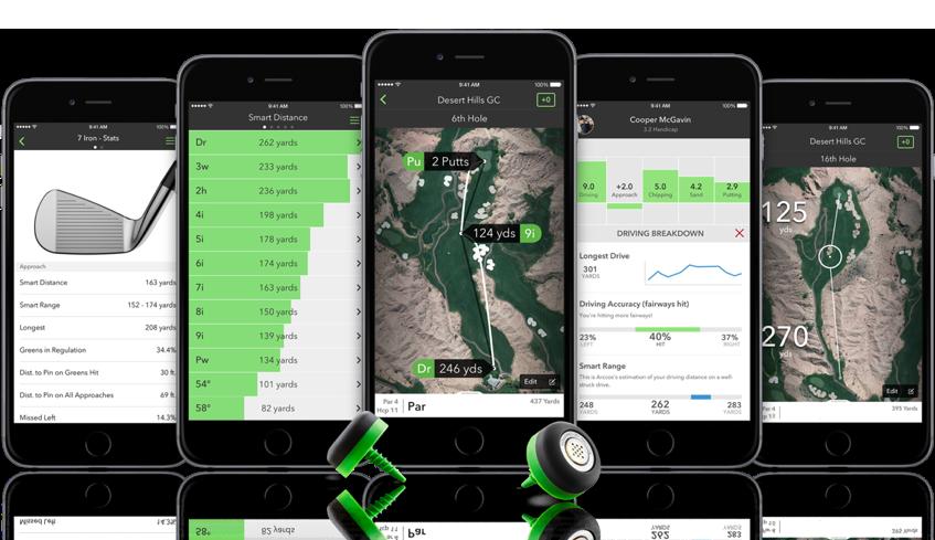 Arccos 360 Golf Tracking System
