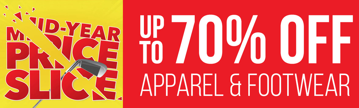 Save Up To 70% Off Apparel and Footwear - Shop Now