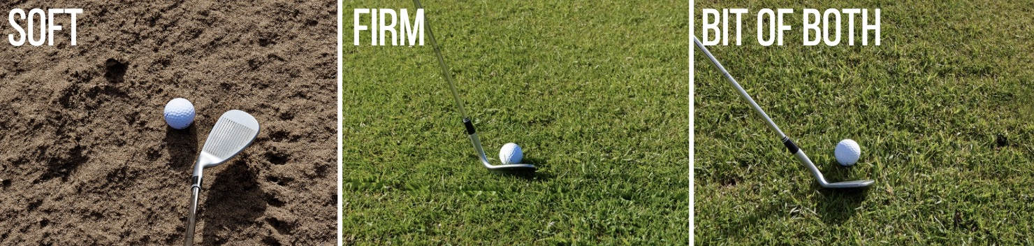 GOLF WEDGE GRINDS AND BOUNCES 1