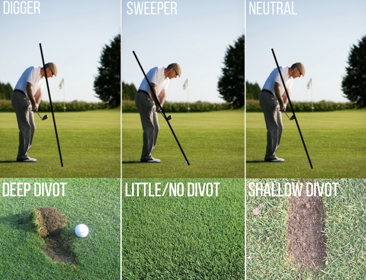 GOLF WEDGE GRINDS AND BOUNCES 2
