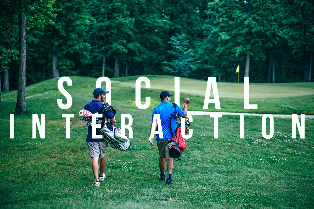 golf social interaction